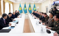 Meeting with secretaries of security councils and ministers of defence departments, CSTO