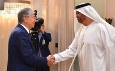 Kassym-Jomart Tokayev held a meeting with Sultan Ahmed Al Jaber, Director-General and Chief Executive Officer of the Abu Dhabi National Oil Company (ADNOC)