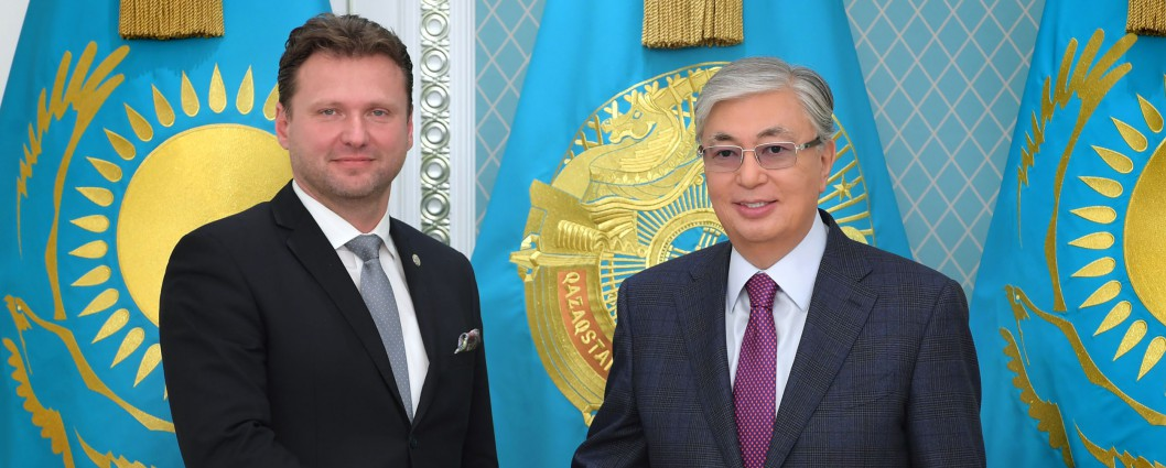 President Kassym-Jomart Tokayev held a meeting with Speaker of the Chamber of Deputies of the Parliament of the Czech Republic Radek Vondracek