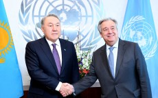 Meeting with Antonio Guterres, Secretary-General of the United Nations