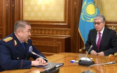 Meeting with Yerlan Turgumbaev, Interior Minister