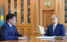 The Head of State receives Yerlan Aitakhanov, Akim of Shymkent
